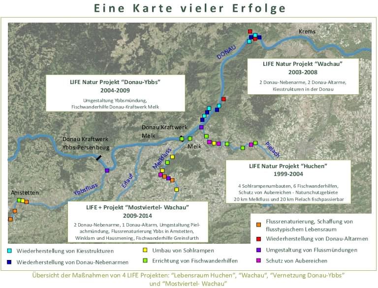 Wachau Karte Donau.Life Mostviertel Wachau Fakten